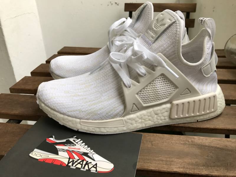 best sneakers 8d3fd 774c1 Adidas Nmd Pk Primeknit Xr1 Bb1967 Triple White Size 14 Mens