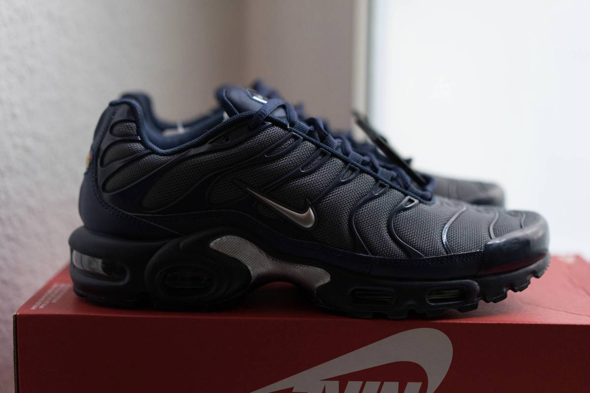a20cef5546 ... Nike air max plus tn tuned 1 midnight navy dark grey - new - us 9 ...