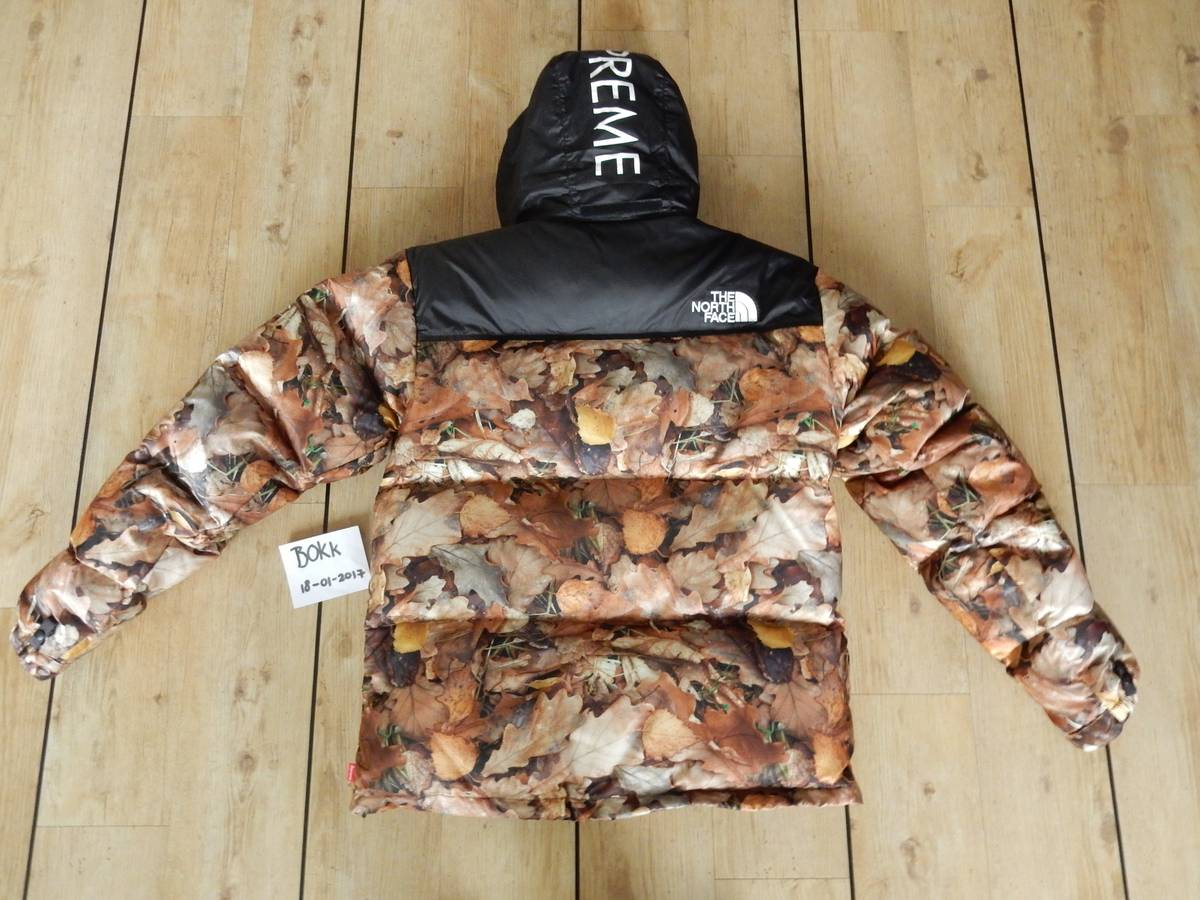 ... 2016 FW 16AW Supreme THE NORTH FACE Nuptse Down Jacket leaves Supreme  face nubs Reeves down  Top Images for TNF Supreme Leaf Camo on  picsunday.com. d3adbfc4a