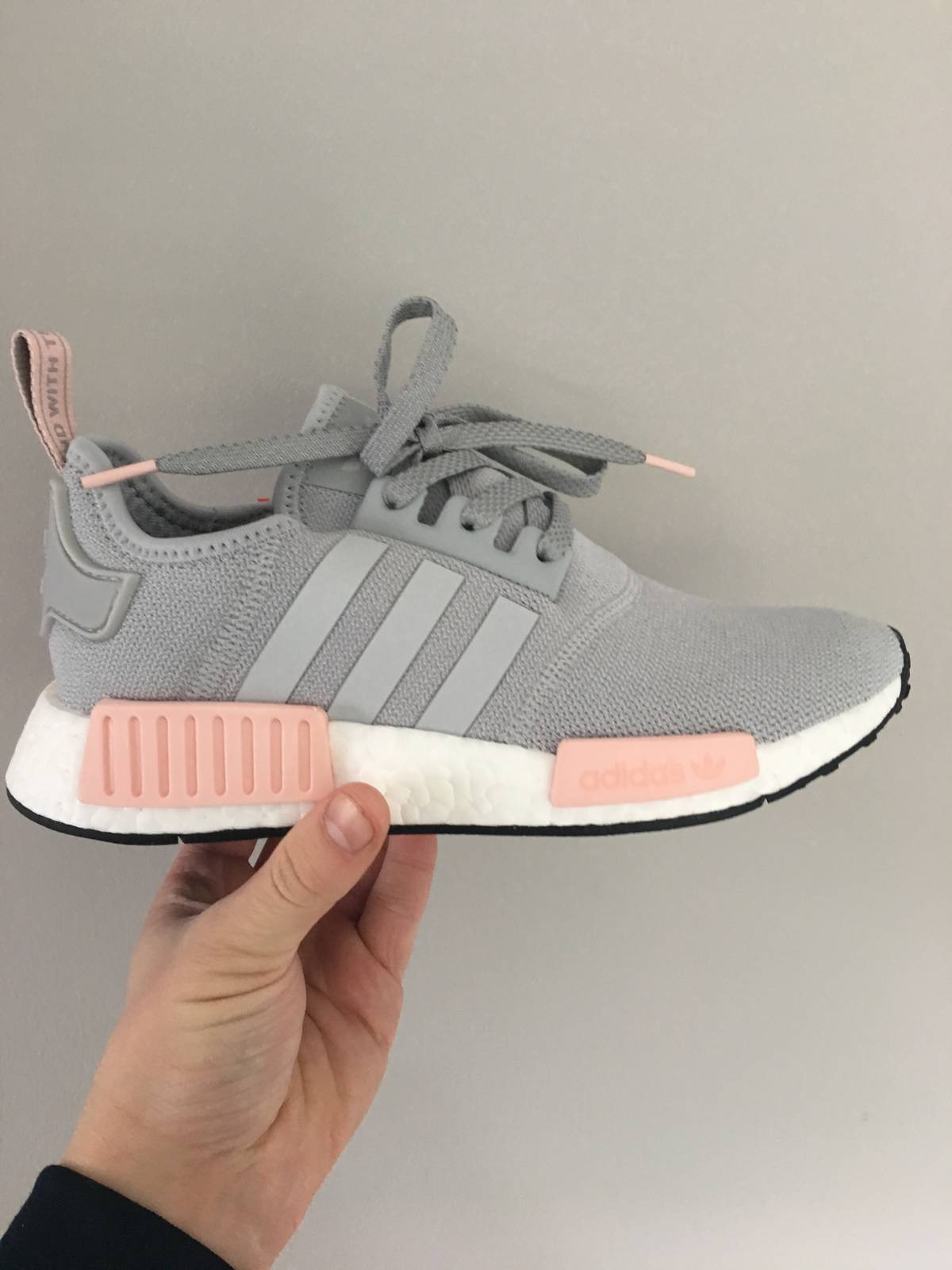 3f9f14be0 switzerland adidas nmd runner grey and pink quilt 35b88 1d1ed