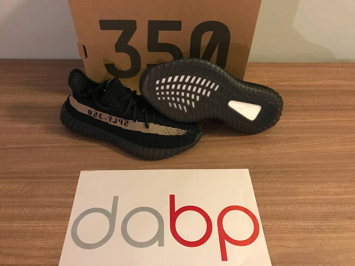 adidas 6 5. adidas yeezy boost 350 v2 black / green size 6,5 us - photo 1 6 5