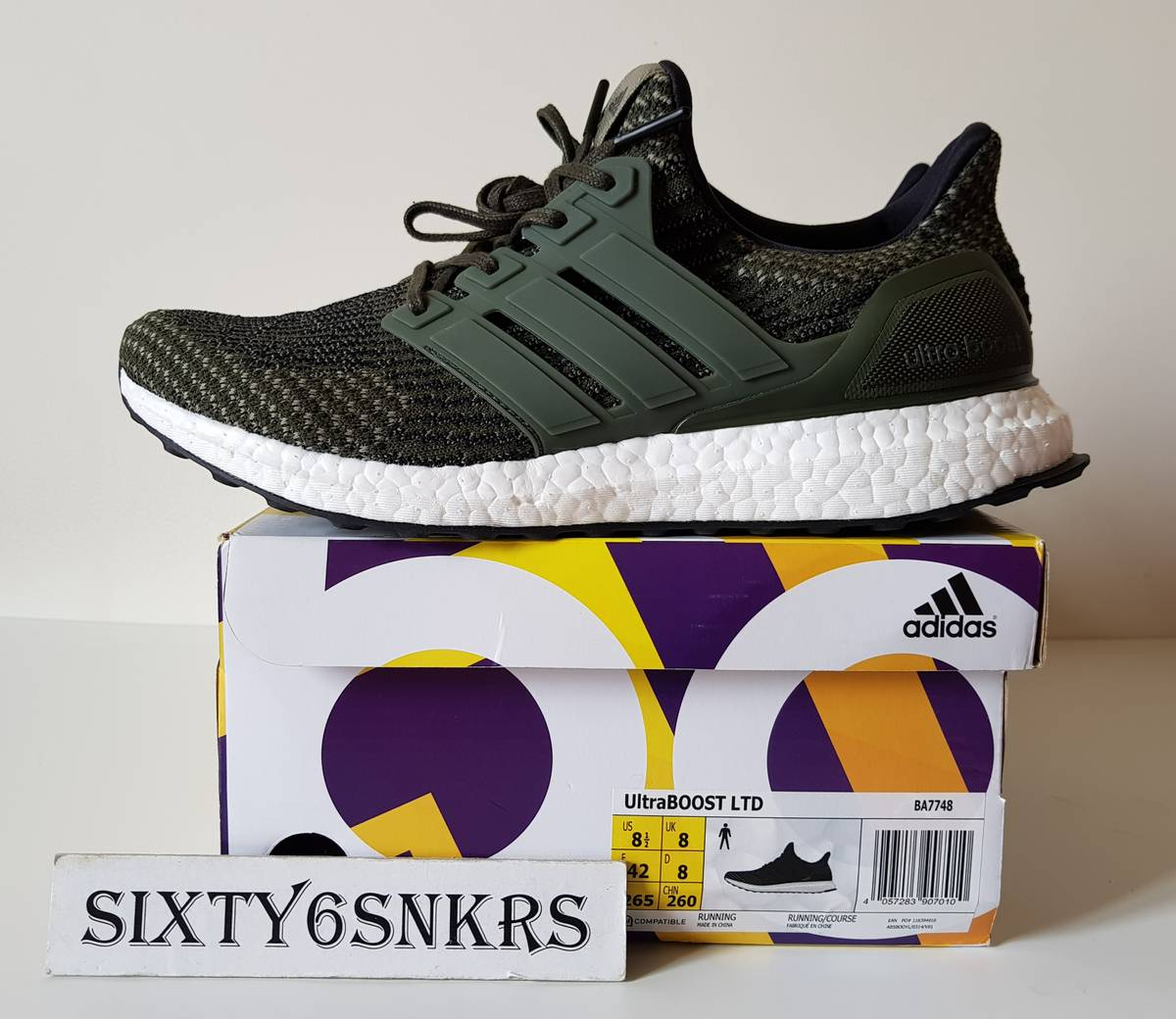 ADIDAS ULTRA BOOST 3.0 TRACE CARGO OLIVE MILITARY PACK