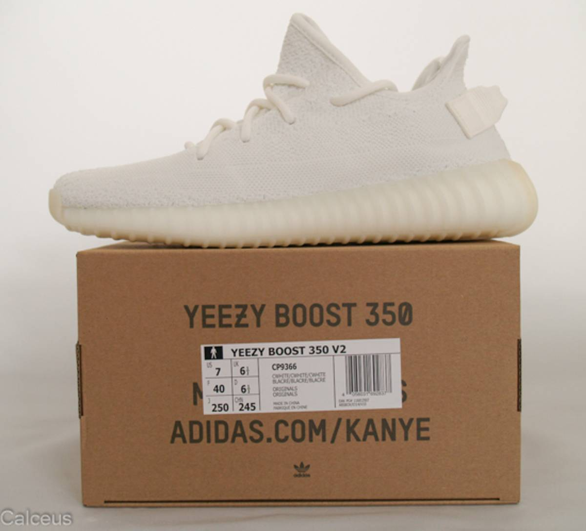 Exclusive In Hand Look At The All White Yeezy Boost 350 V2