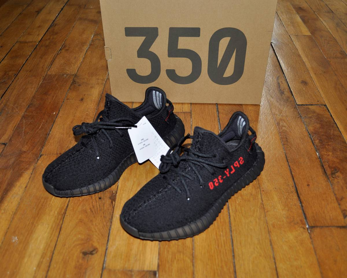adidas 6 5. adidas yeezy boost 350 v2 bred black red cp9652 size 6,5 us 6 uk 5