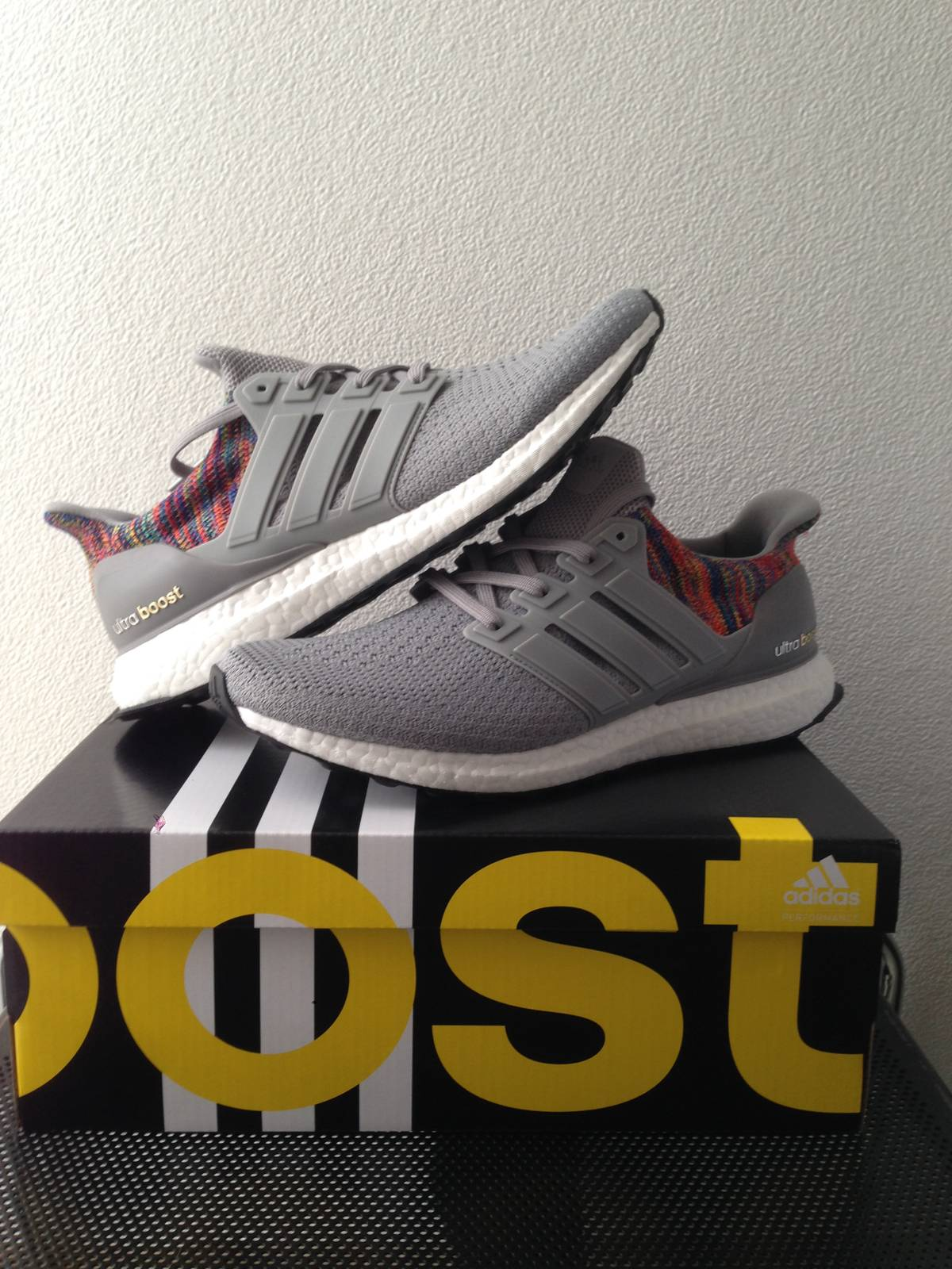 710a9fcaa0a53 ... inexpensive miadidas ultra boost rainbow limited photo 3 6 adidas mi  ultra boost multicolor rainbow grey