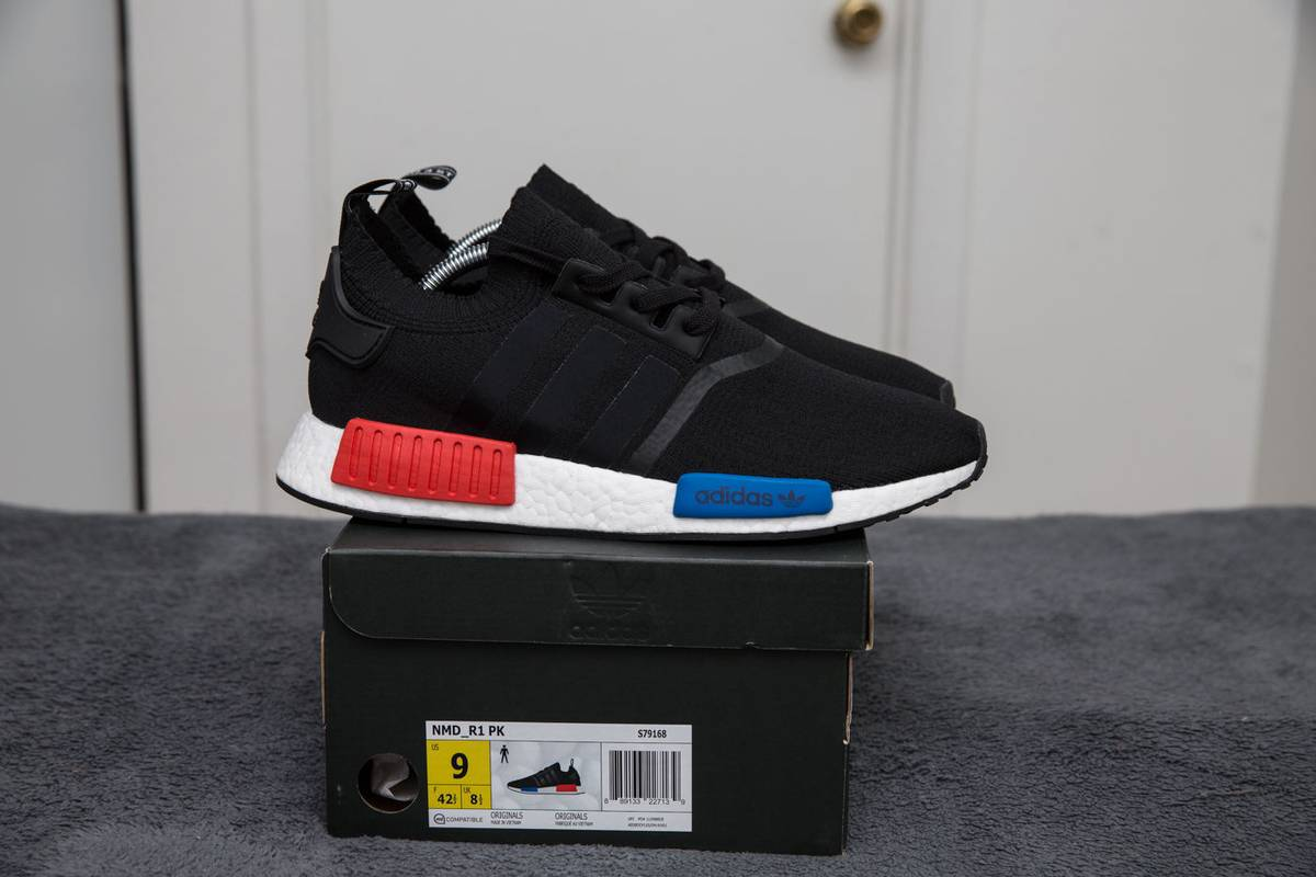 a2897503380 Cheap Adidas NMD R1 OG Running Shoes Sale 2017