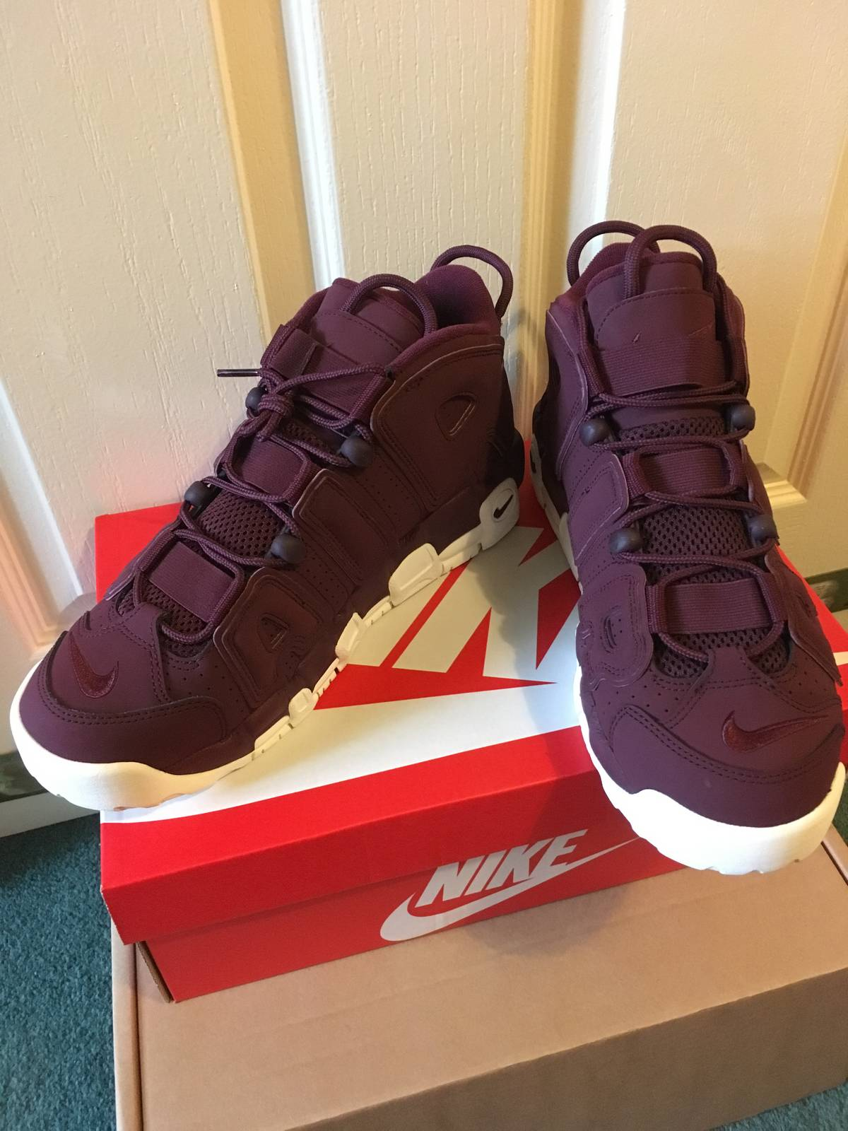 38f889041c7b5d ... release date nike air more uptempo 96 qs size 9 night maroon air max  81f15 2c35b
