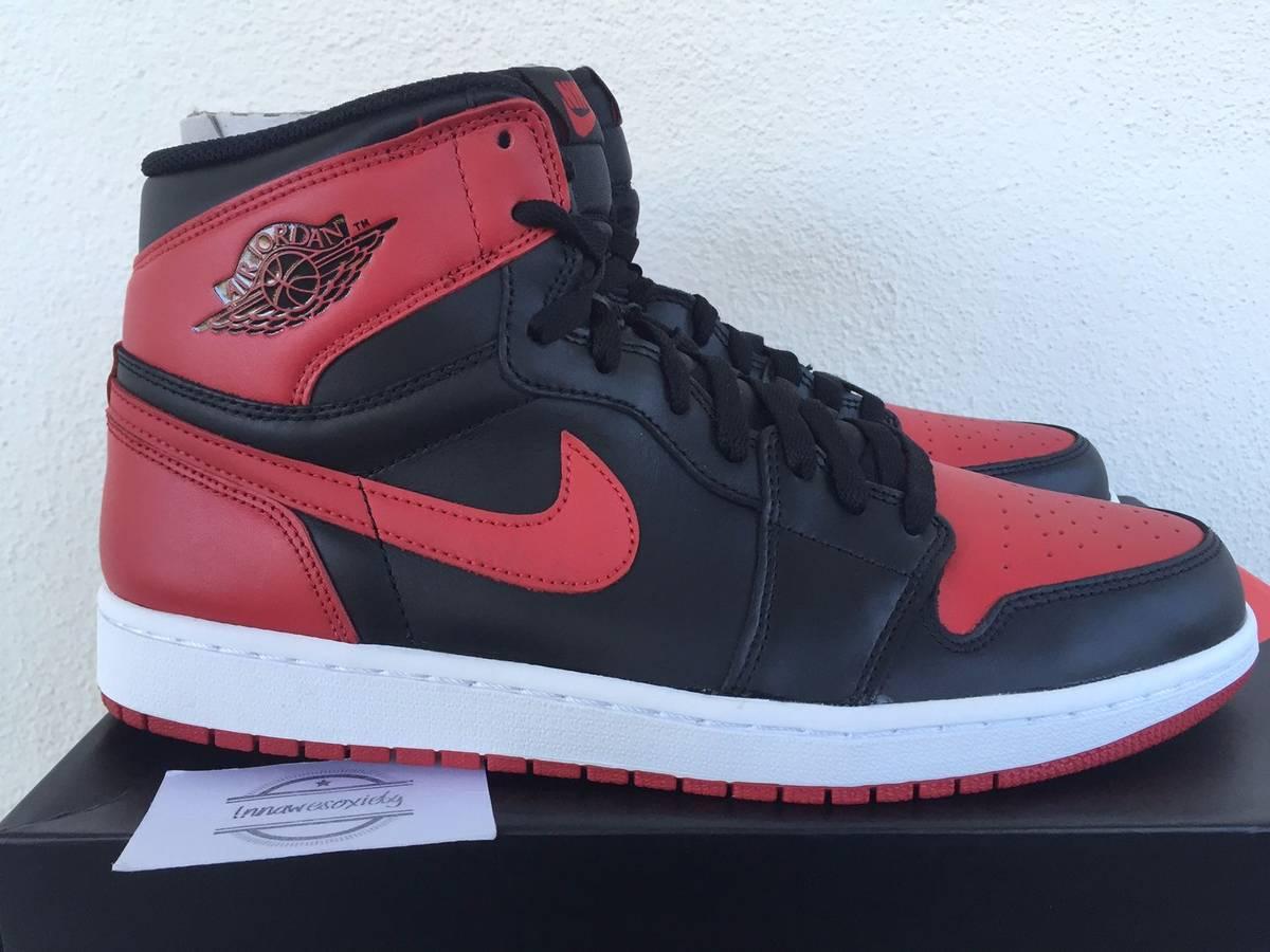 buy online 18e2c d4e99 Nike Air Jordan 1 High Og Bred 2013 size 11 us 10 uk 45 eu banned ...