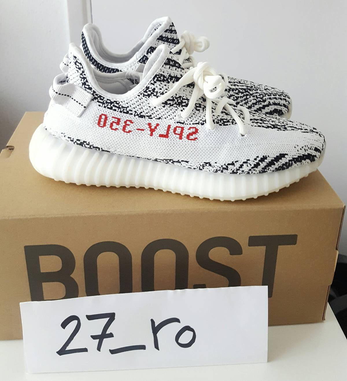 adidas Yeezy Boost 350 V2 Cream White Size 9.5