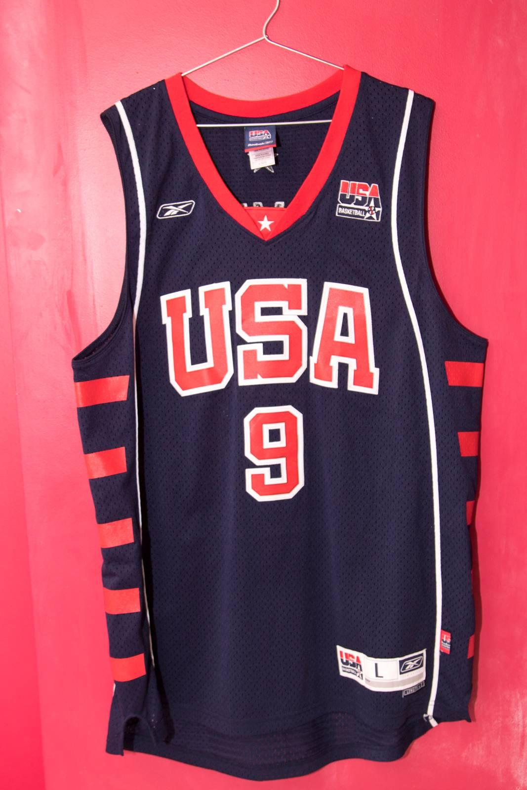 lebron usa jersey. 2004 usa olympic basketball team lebron james jersey - photo 1/5 usa