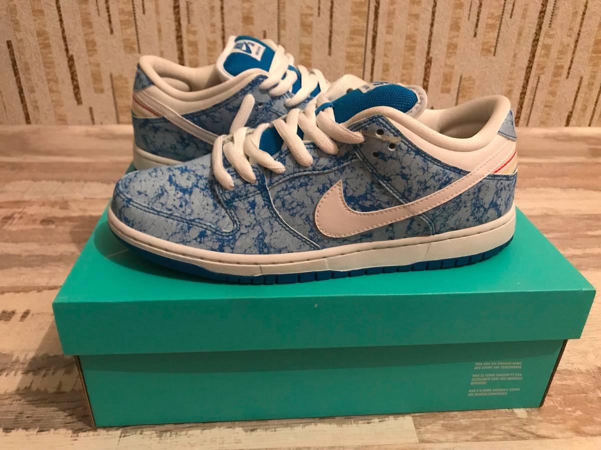 9037644bdb88 ... Nike dunk low premium sb marble 313170-401 photo blue us9.5 deadstock  ...