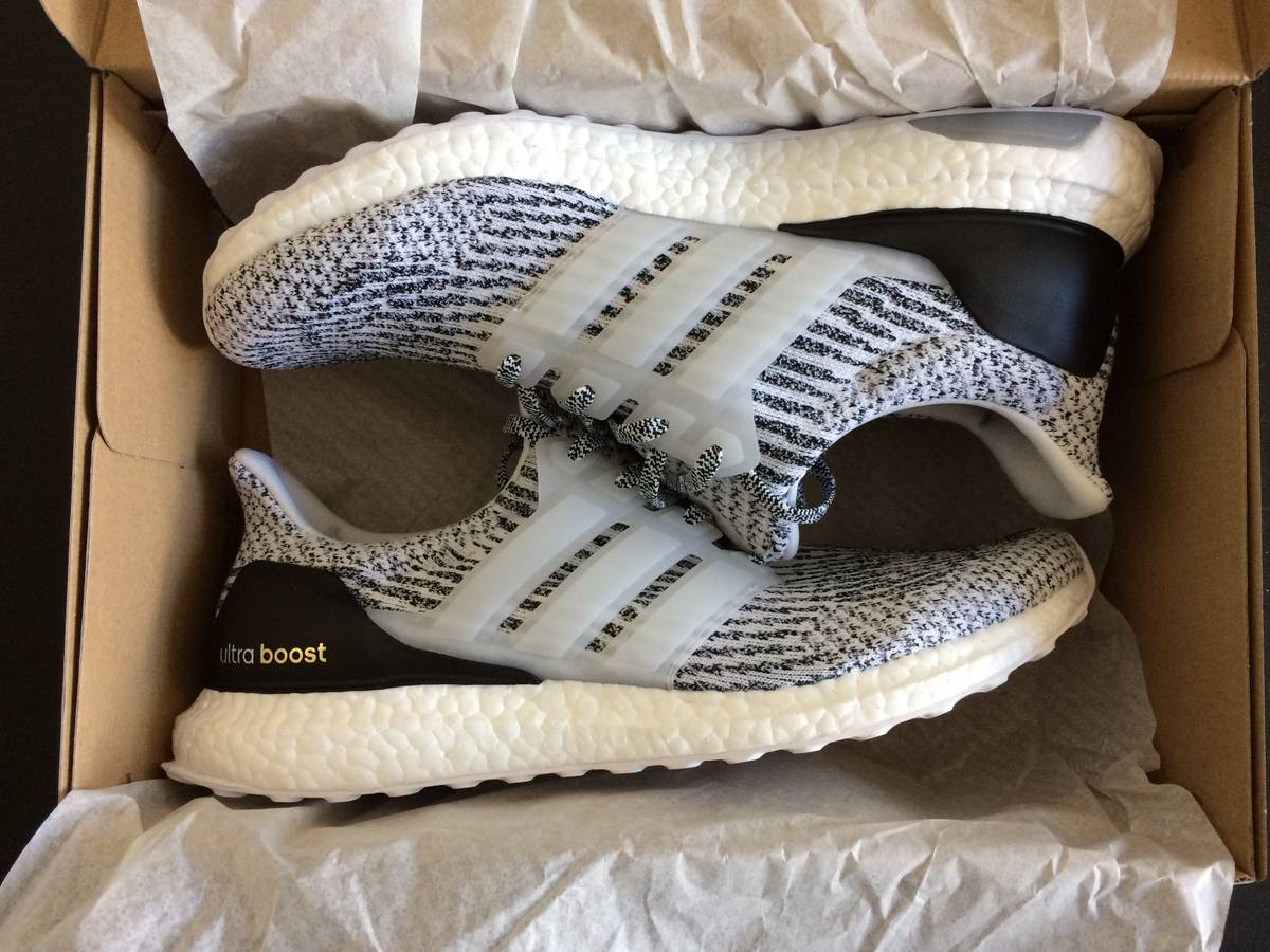 Adidas Ultra Boost 3.0 Mystery Dark Heather Grey Sz 8 13 BA8849