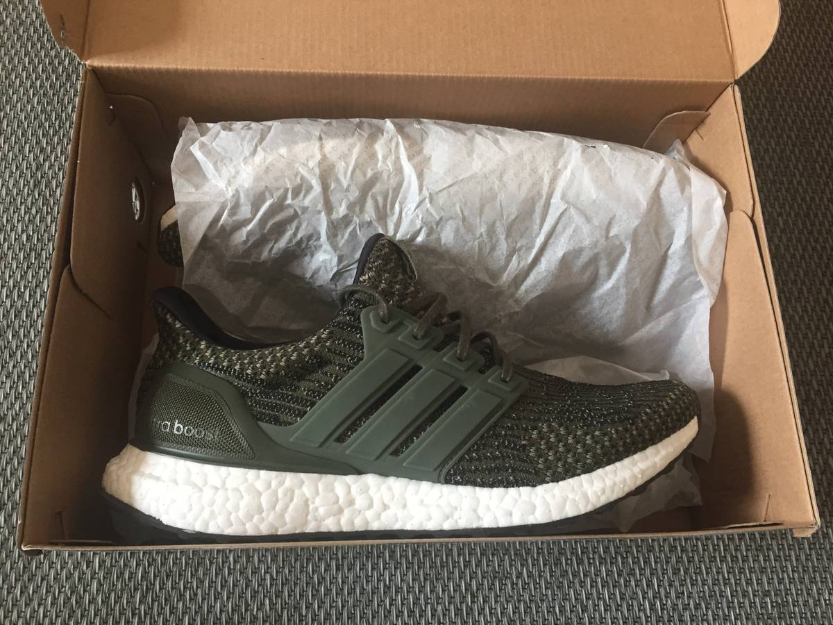 Brand New Adidas Ultra Boost LTD 3.0 Trace Cargo Olive Military SZ