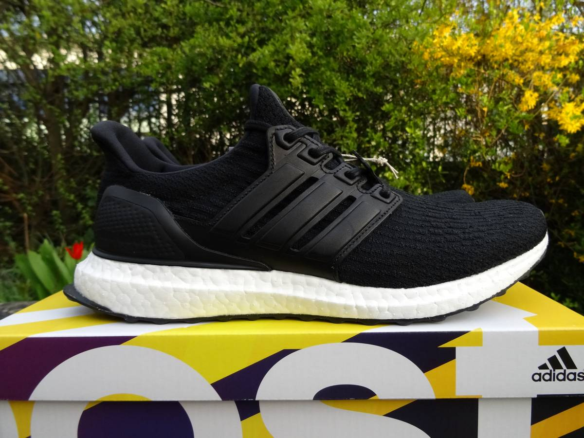 Adidas Ultra Boost 3.0 LTD Leather Cage Core Black Limited