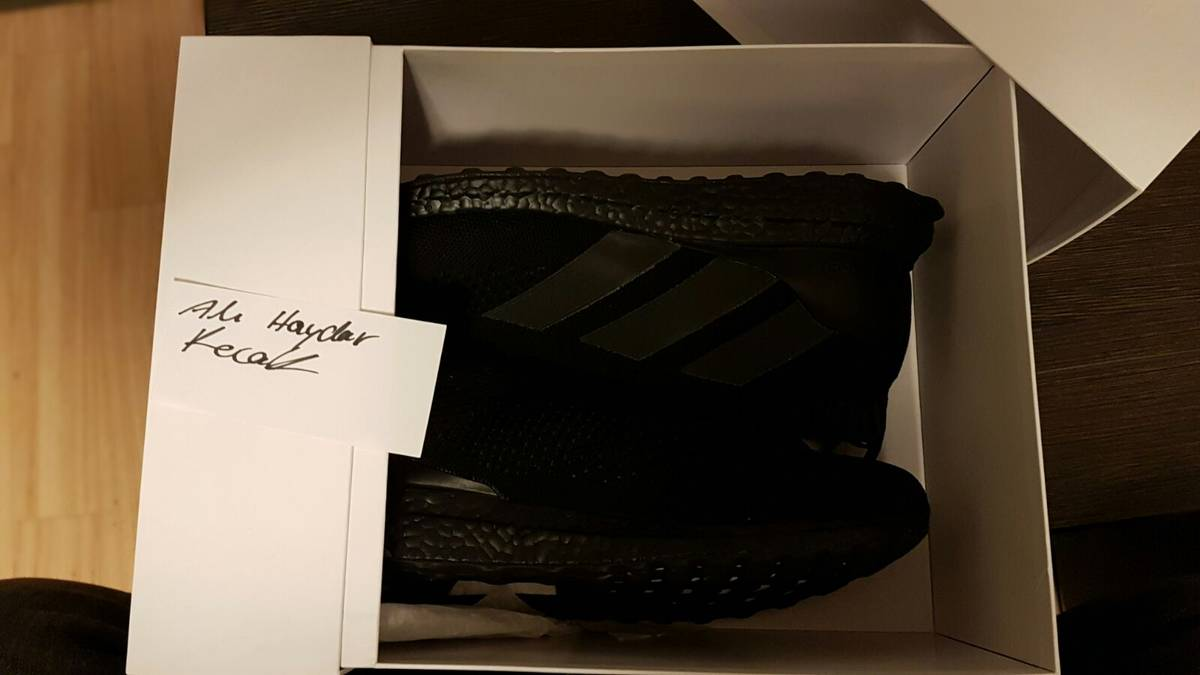 Get Nice ACE 16 Purecontrol Ultra Boost Black Kyle's Sneakers