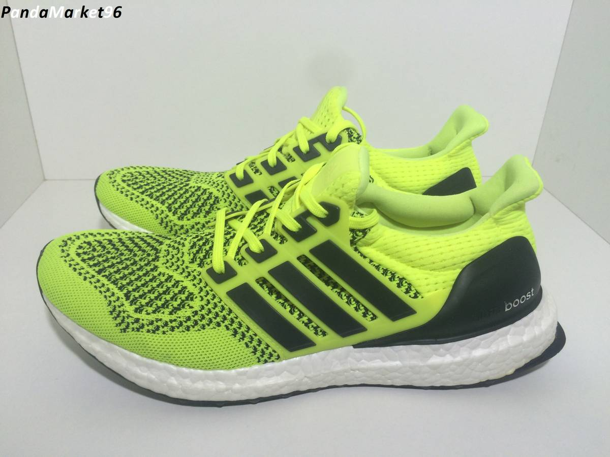 separation shoes 19237 560df adidas ultra boost yellow green