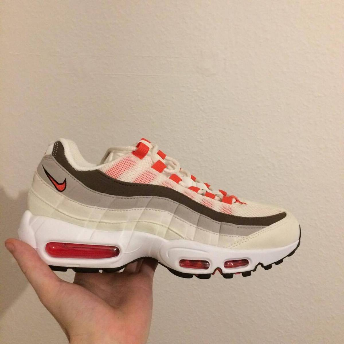 Nike air max 95 sail ember glow-phantom ... a0913c917