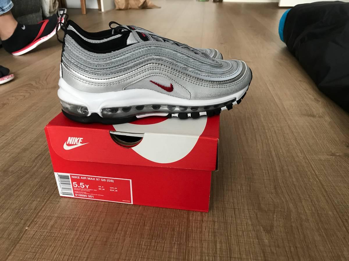 4789d1c665 ... Nike air max 97 QS (GS) metallic silver