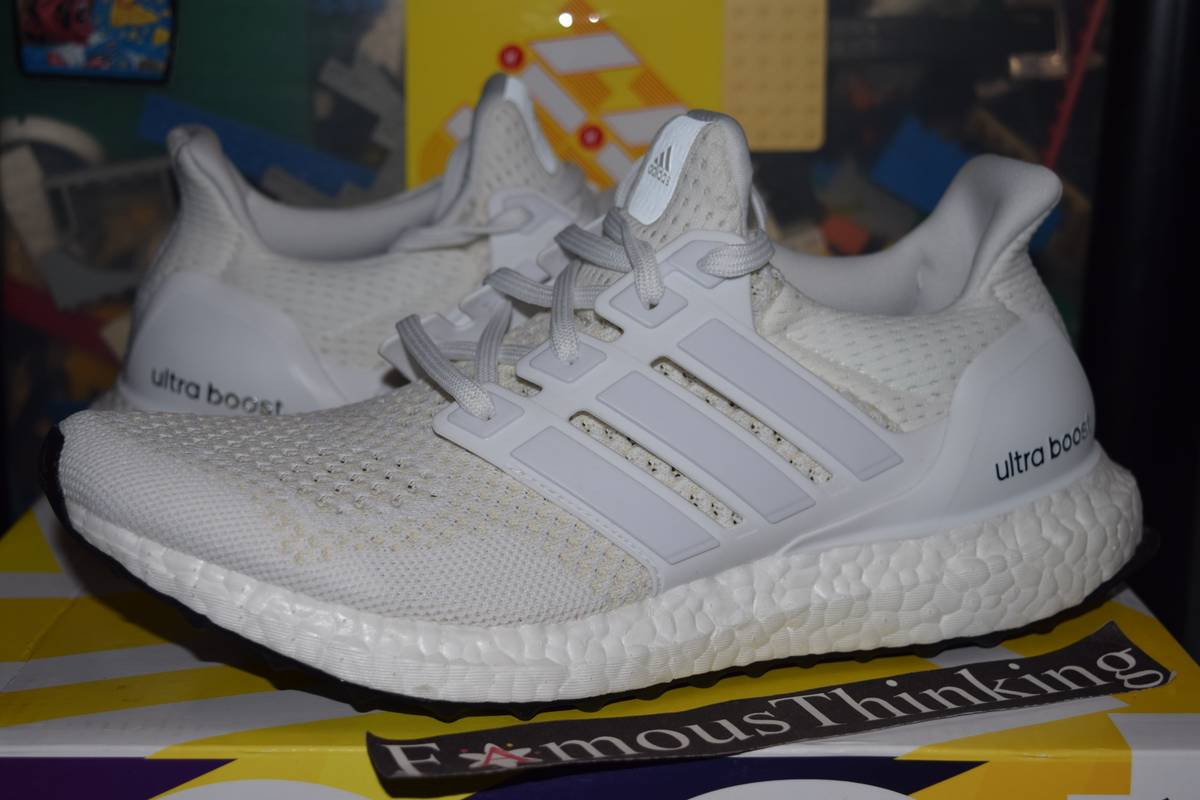 online store 8f085 f3651 ... Adidas Ultra Boost Triple White 1.0 S77416 - photo 1/5 .