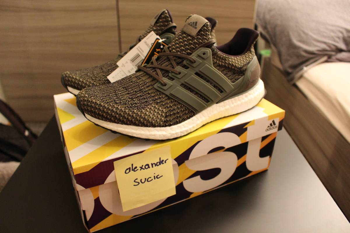 Adidas Ultra Boost 3.0 Trace Cargo Shoes for sale in Subang Jaya