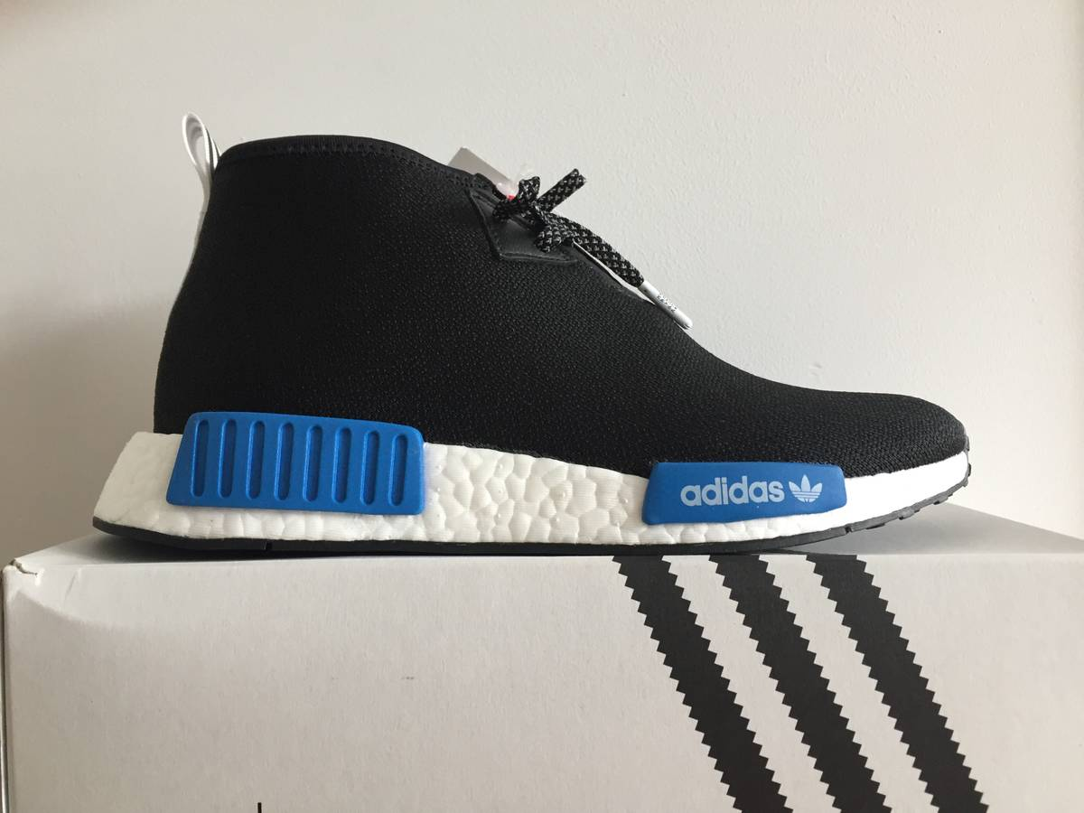 2017 sale Cheap Adidas NMD R1 grey S32218 from UK online shop.
