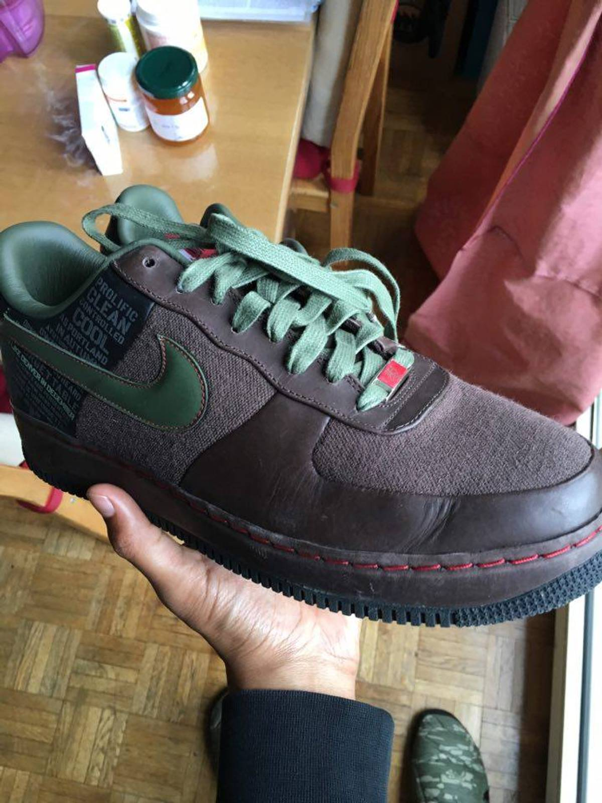 Nike Air Force x Supreme Calvin Natt Original SIX from