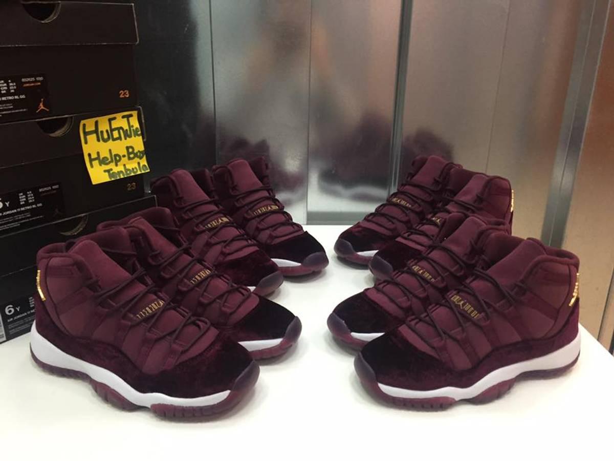 sale retailer dd3d9 0ed37 ... Velvet)  Nike Air Jordan 11 Retro RL GG Heiress 852625-650 - photo 1 5  ...