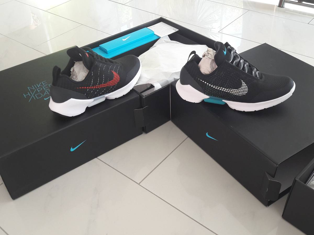 03a3567ac03 ... nike hyperadapt 1.0 black blue lagoon 10 eu44 photo 1 5 ...