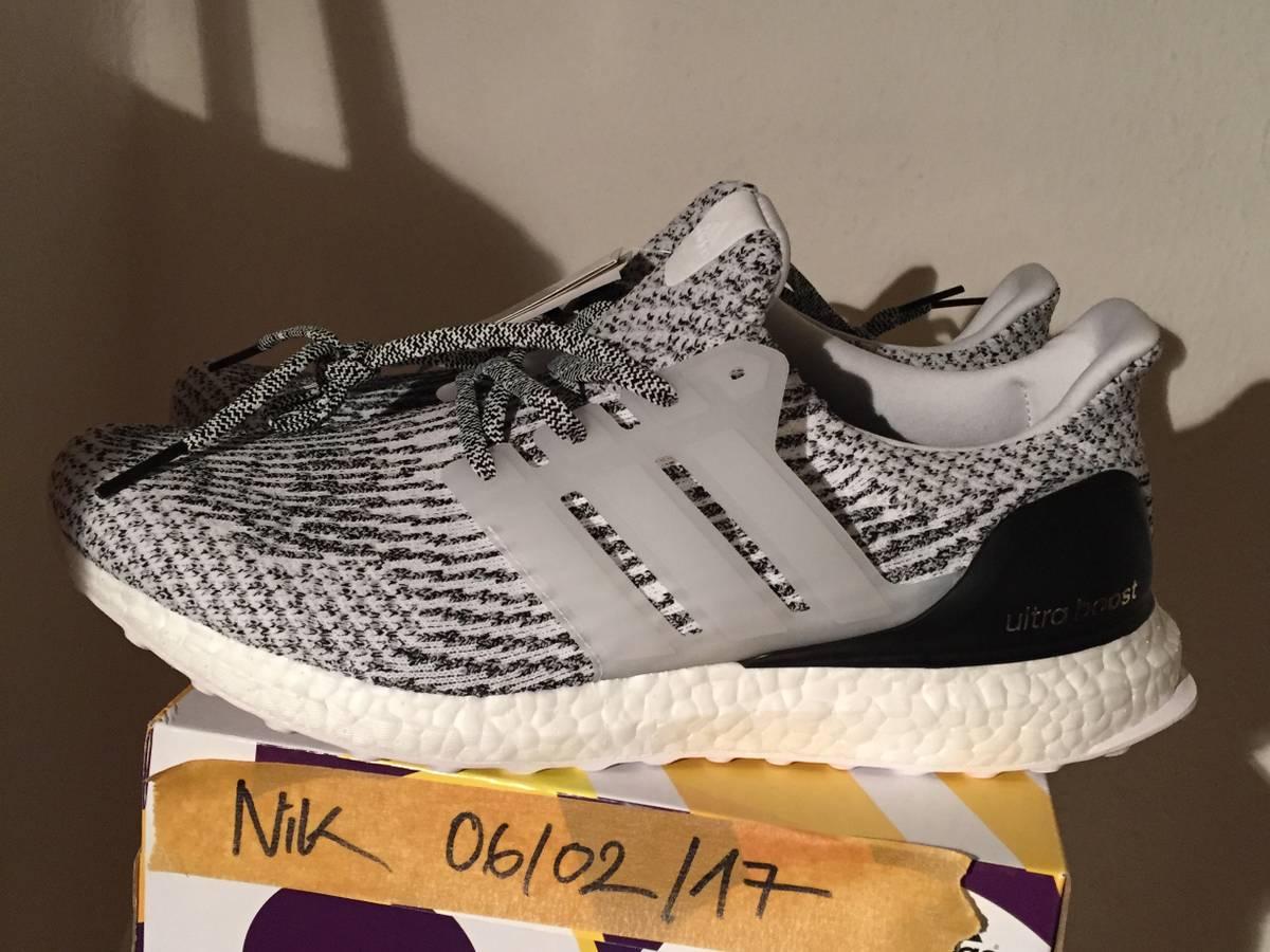 Adidas Ultra Boost 3.0 'Zebra' (# 1089371) from NixKicks
