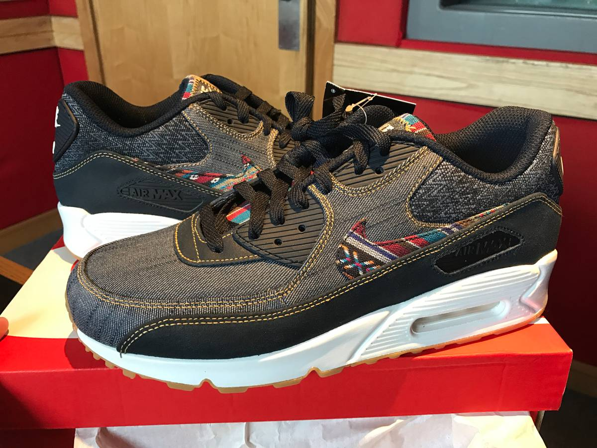 ced7f6f7d9 ... Nike Air Max 90 Afro Punk Pack UK9 / US10 Atmos Japan Exclusive Release  - photo ...