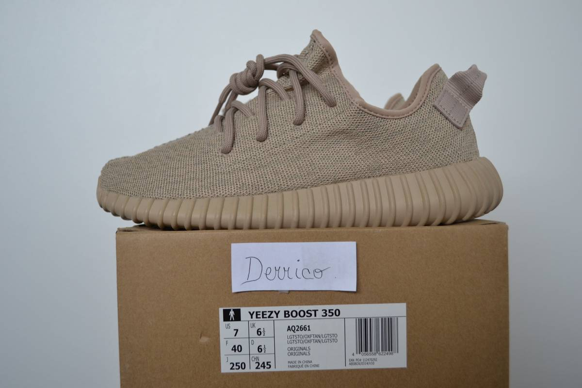 huge selection of c7983 32885 Adidas yeezy boost 350 oxford tan aq 2661 6 the good will out