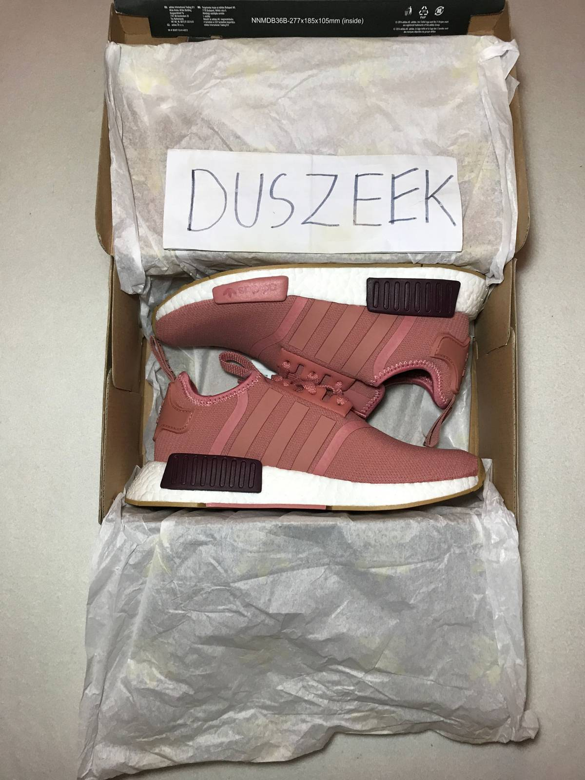 NMD Runner R1 Mesh Triple White Cream Salmon City