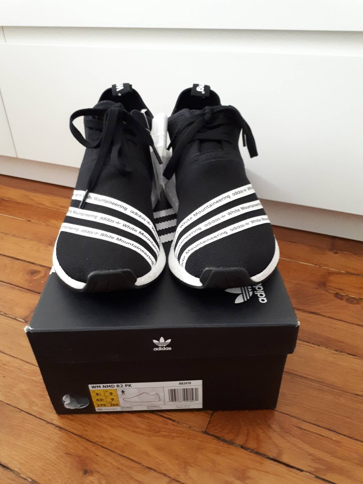 SALE Adidas NMD R2 PK Core Red White Black BB2910 Primeknit