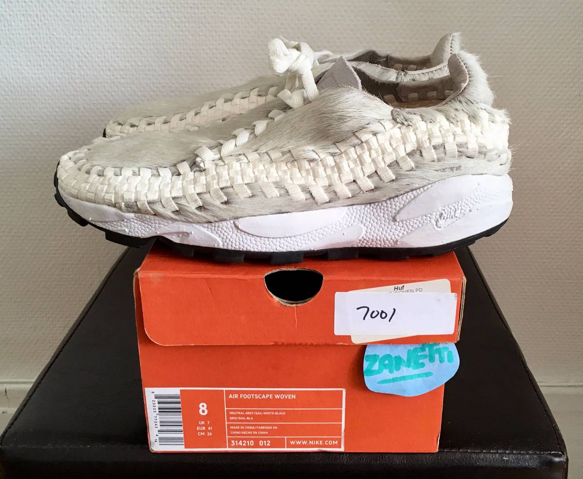 promo code 89460 469aa ... Nike Air Footscape Woven x The ltstronggt .