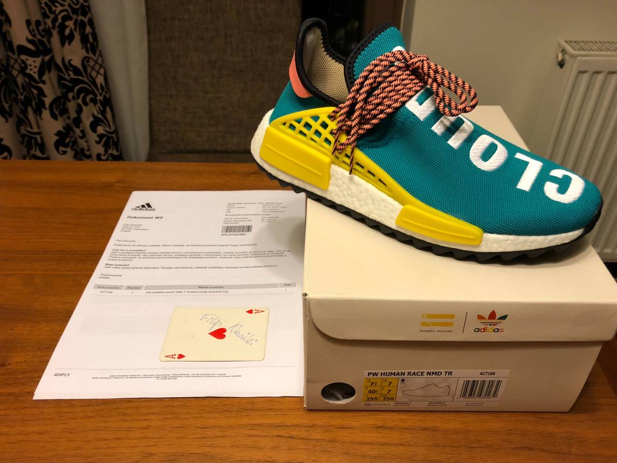 36bad65f8bb0 Cheap NMD Human Race Shoes for Sale