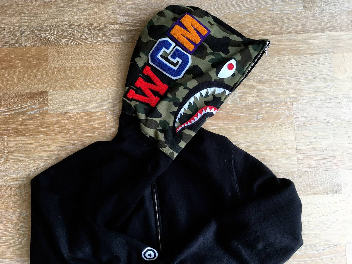Authentic bape clothing online