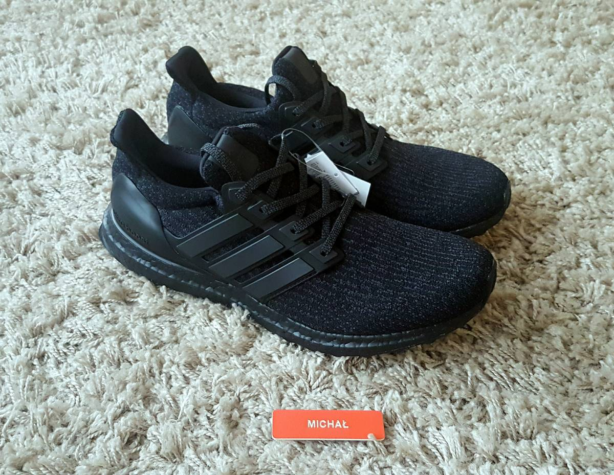 new style d801c 91caf ... greece adidas ultra boost 3.0 triple black ba8920 photo 1 5 a04d4 4ae02