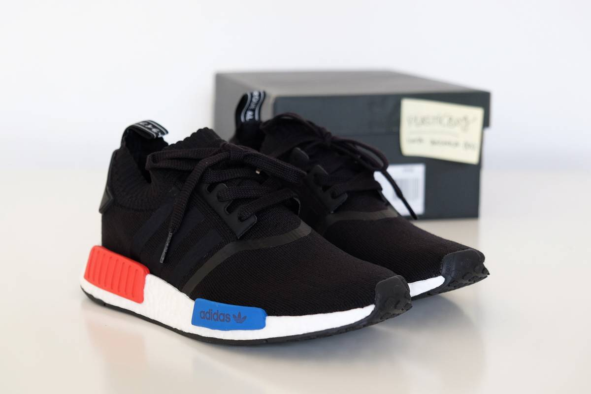 Adidas NMD R1 OG Colorway Raffle Running SHOWS SNEAKER