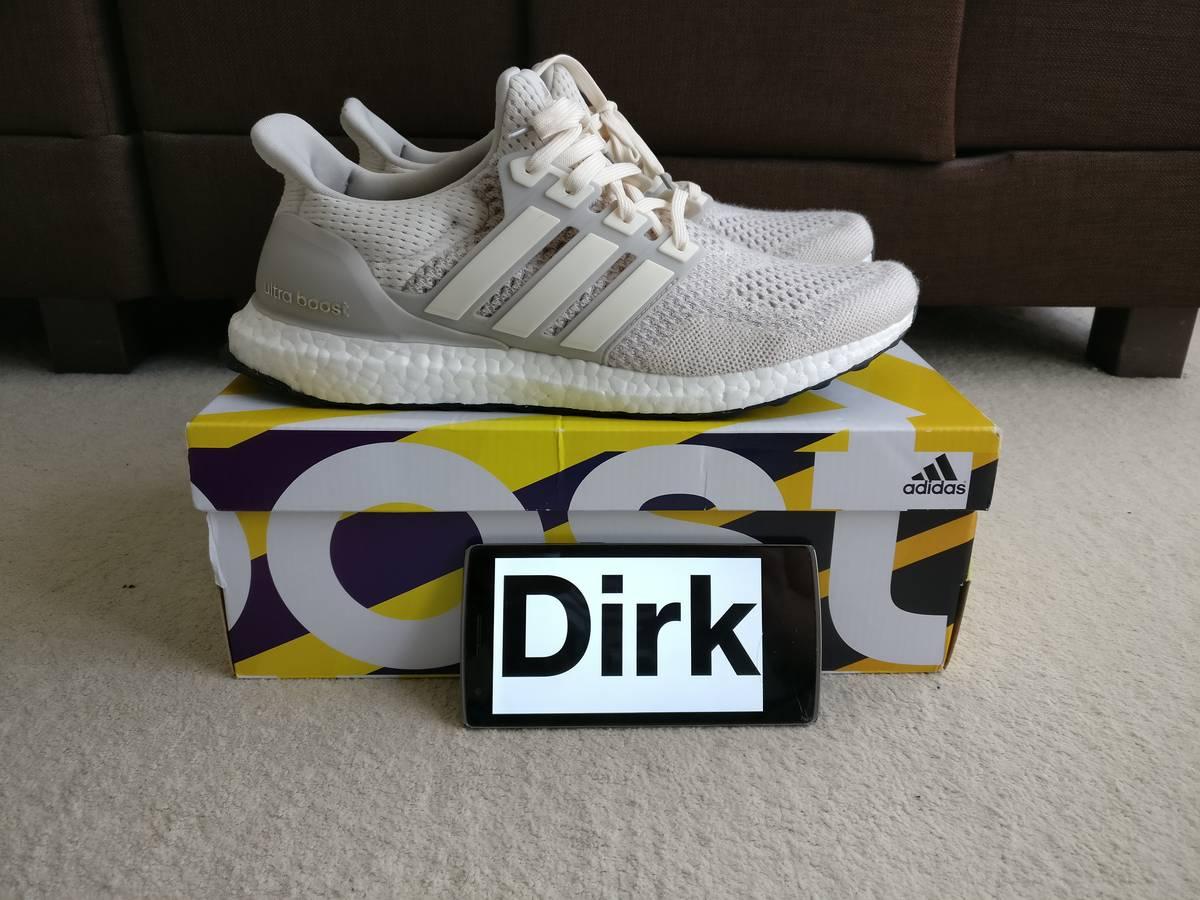 quality design 30192 ab5a4 ... Adidas Ultra boost 1.0 Cream chalk off-white - photo 1/5 ...