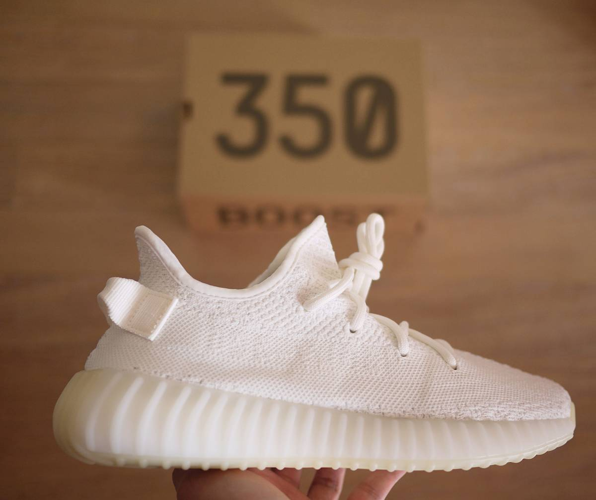 The adidas Yeezy Boost 350 White Will Be Dropping This Spring The