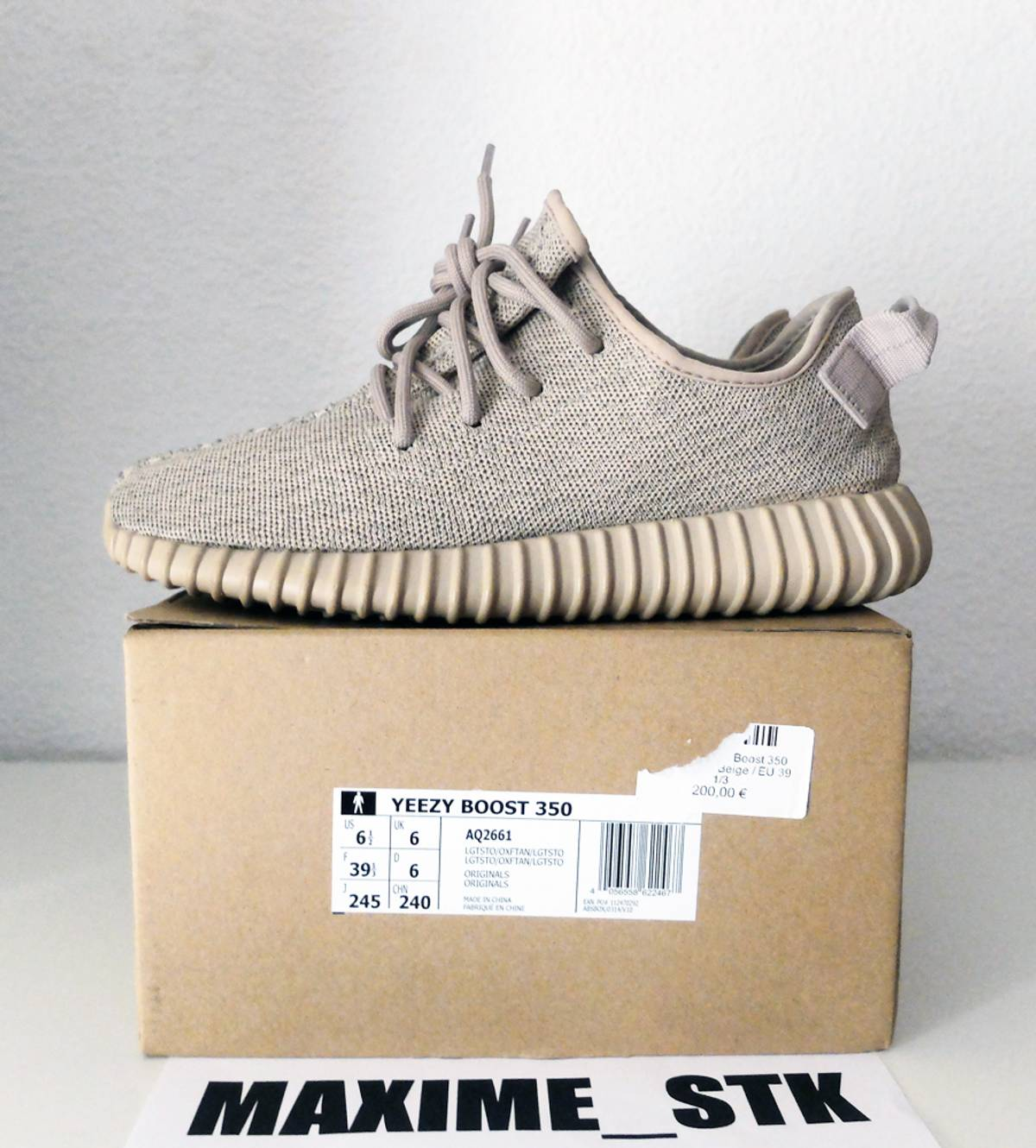 e764628fb48 Discount Yeezy Boost 350 V2 Cream White Real Vs Fake UK 93% Off