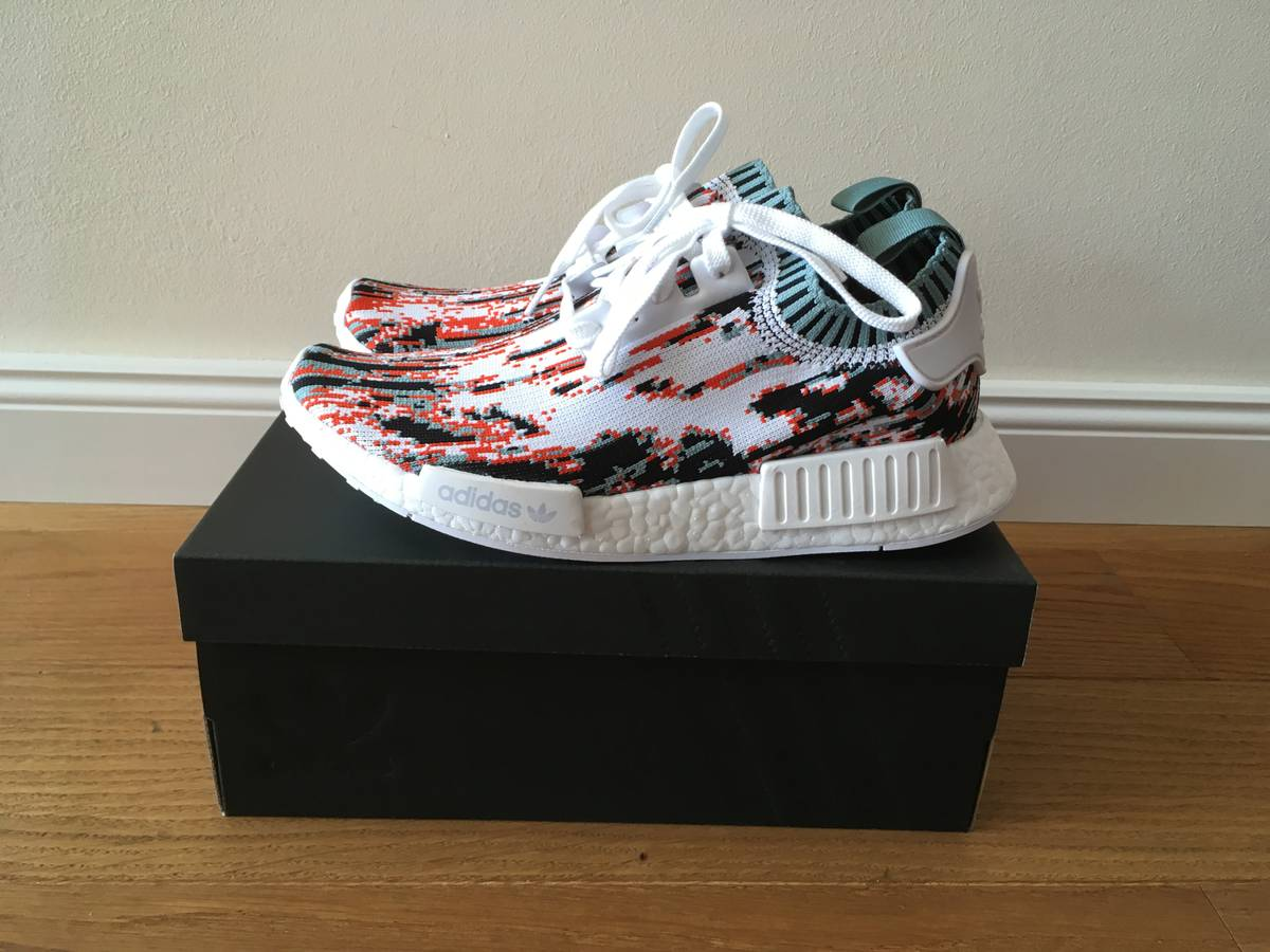 5e972b12862 NEW CUSTOM Gucci x Adidas NMD Womens and Men BA7286
