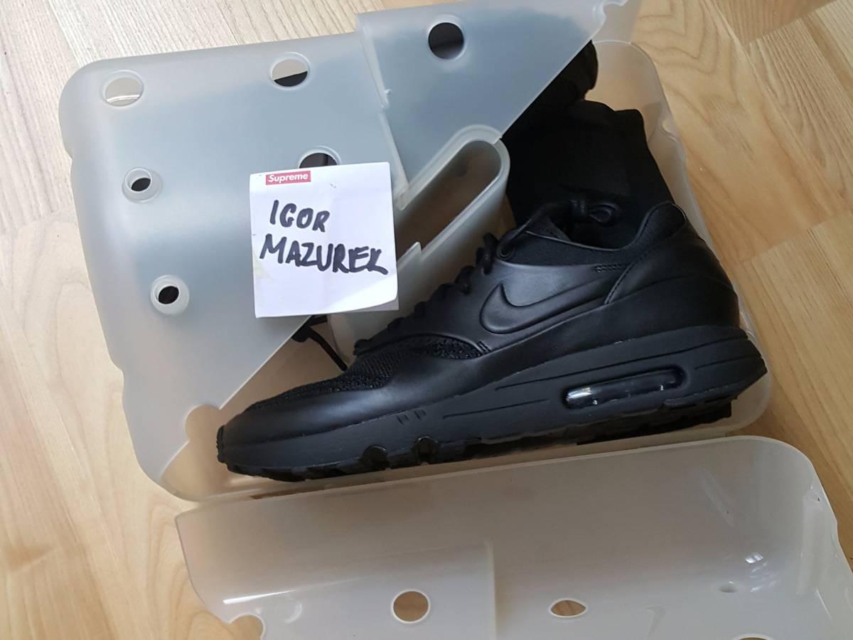 70853b5f71 ... NikeLab Air Max 1 Flyknit Royal x Arthur Huang - photo 1/5 ...