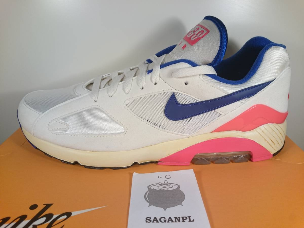 Cheap Nike Air Max 180 QS (Summit White & Laser Crimson) End