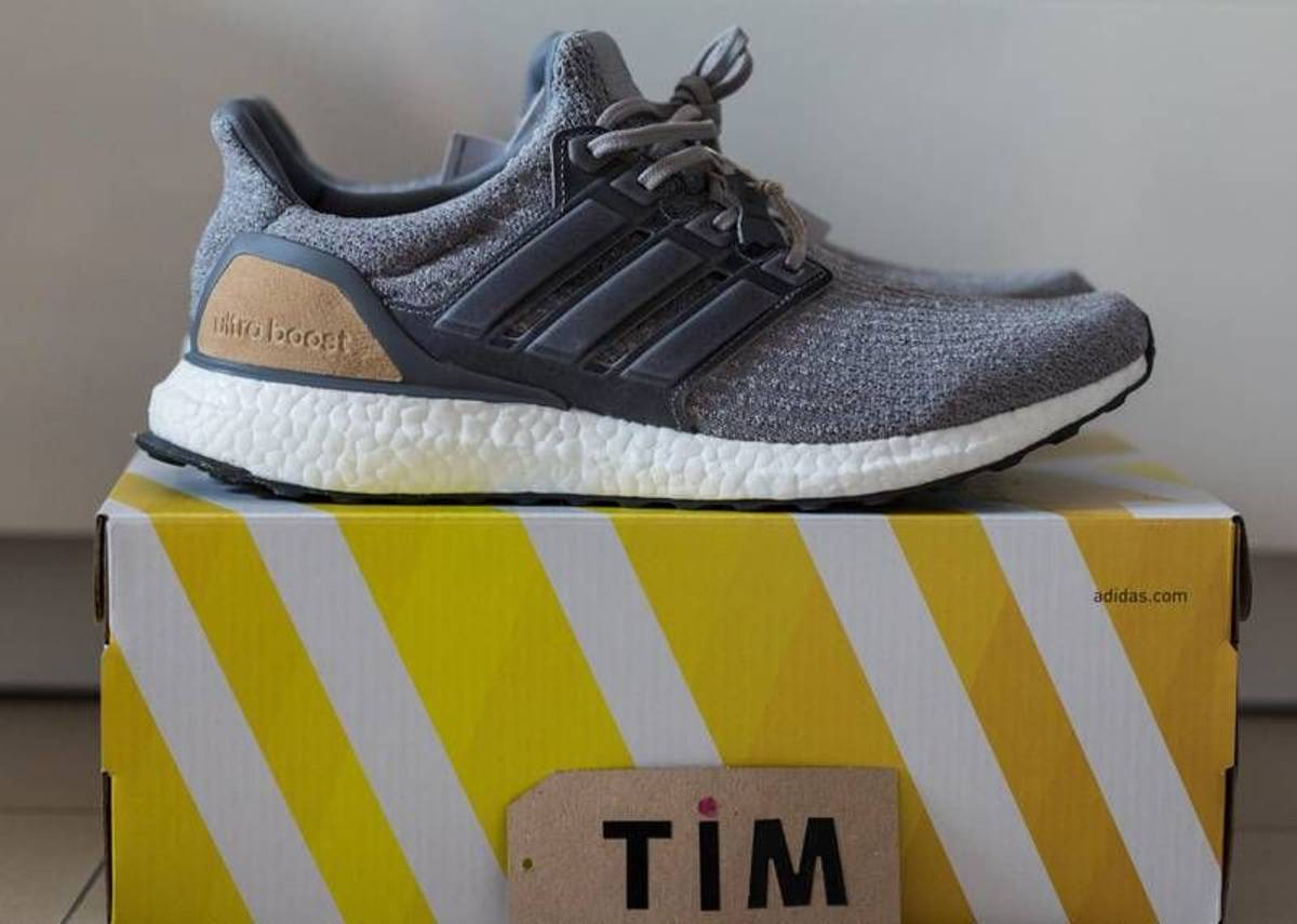 adidas ULTRA BOOST 3.0 pearl grey trace cargo unboxing review