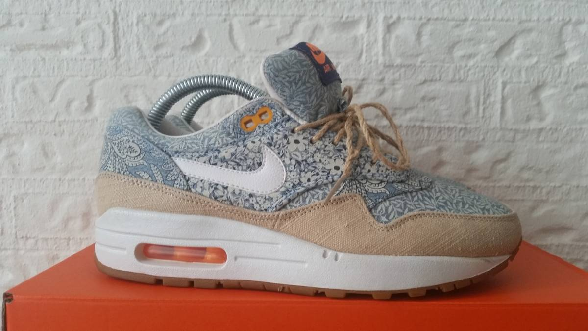 huge discount 35605 e0f8a ... Nike air max 1 liberty london blue recall - photo 1 5 nike womens ...