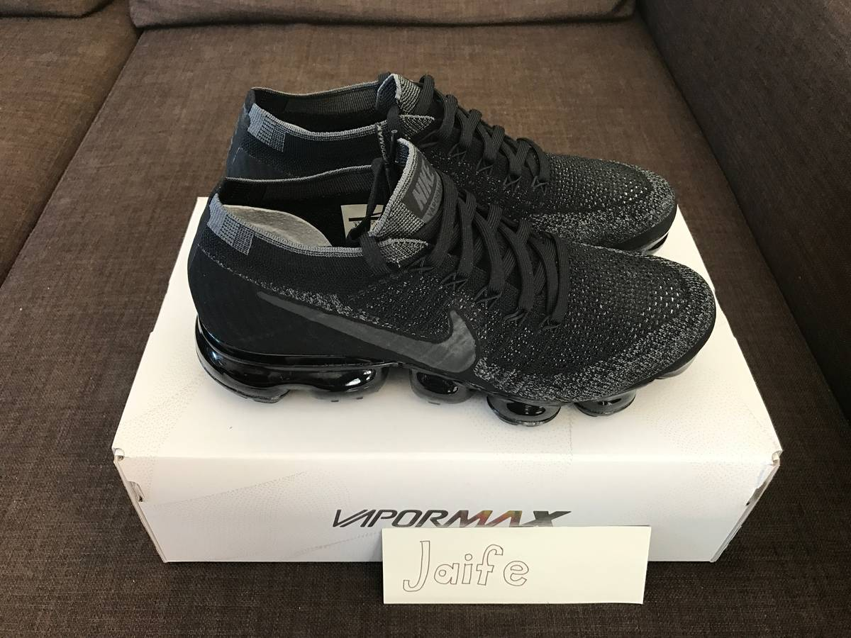 Unboxing Cheap Nike Air Vapormax Black 2017 LovelyBest Video Musslan
