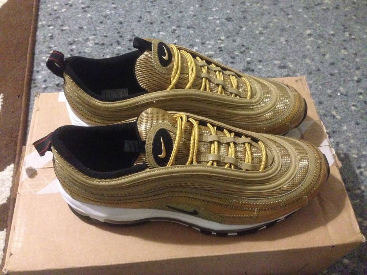 b4b320127e6f4c ... nike air max 97 cr7 golden patchwork