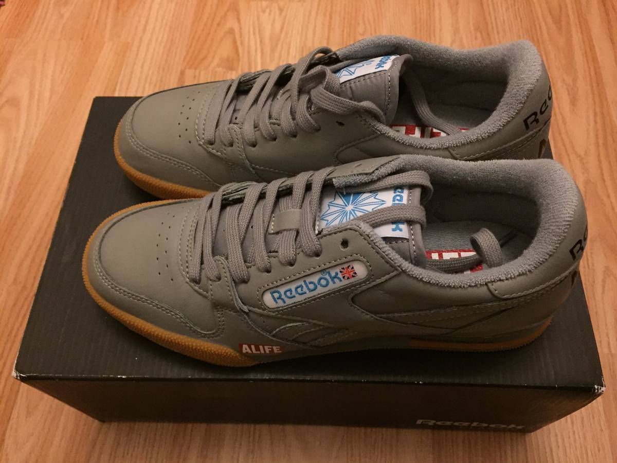timeless design 193d1 60abd ... Reebok Classic Phase 1 Pro x ALIFE NY sneakers - photo 1 5 ...