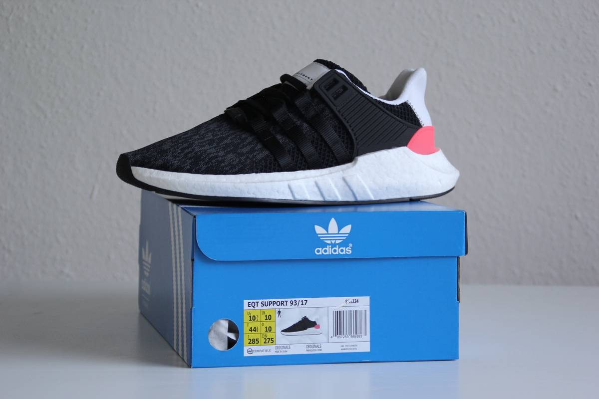 adidas EQT Support 93/16 Boost (Grey/Red) Sneaker Freaker
